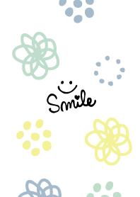 ธีมไลน์ Handwritten flower polka-dot16 Japan