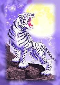 ธีมไลน์ Lavender WhiteTiger that repels disaster
