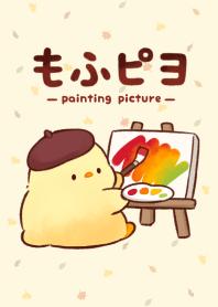 ธีมไลน์ mofupiyo(painting picture)