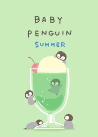 ธีมไลน์ Baby penguin & cream soda #fresh
