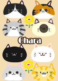 ธีมไลน์ Ohara Scandinavian cute cat2