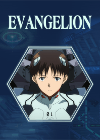 ธีมไลน์ EVANGELION Theme SHINJI