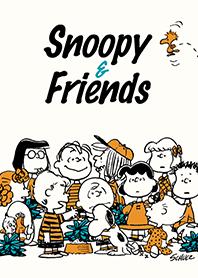 ธีมไลน์ Snoopy & เพื่อน