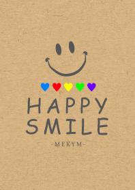 HAPPY SMILE KRAFT 5color 5 -MEKYM-