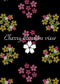 Cherry blossom view -Black-