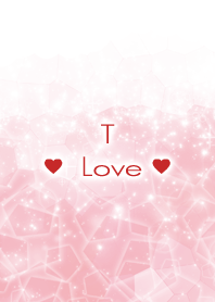 T Love Crystal Initial theme