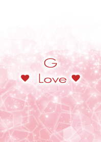 G Love Crystal Initial theme