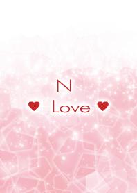 N Love Crystal Initial theme