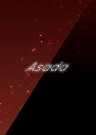 Asada cool red & black