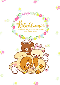 Rilakkuma: Little Cute Rabbits
