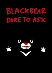 ธีมไลน์ หมีดำกล้าถาม