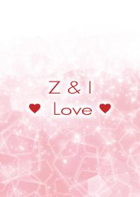 Z & I Love Crystal Initial theme
