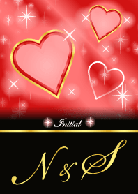 N&S -Initial-Love forecast-Red Heart