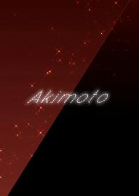 Akimoto cool red & black