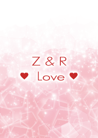 Z & R Love Crystal Initial theme