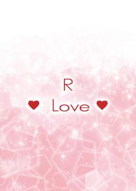 R Love Crystal Initial theme